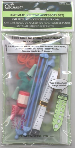 Clover Knitting Mate Kit