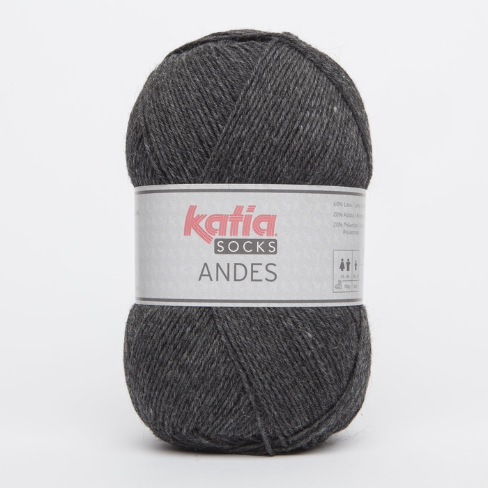 Katia Andes sock yarn 205