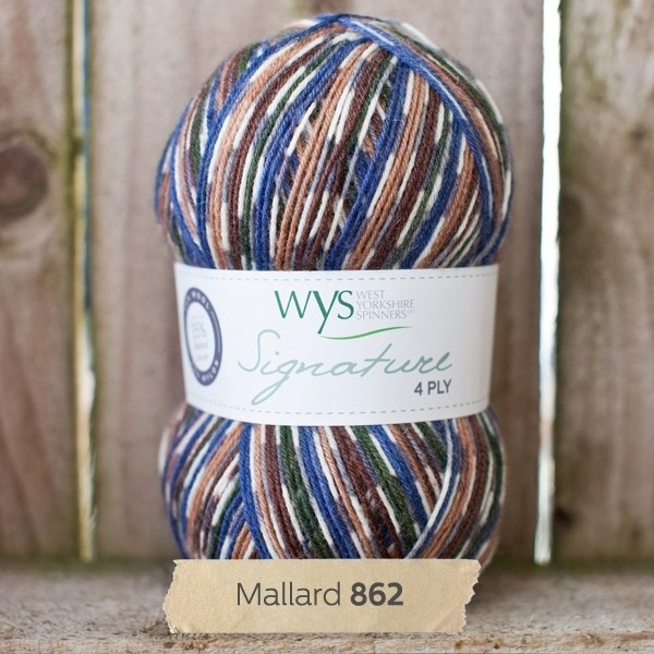 West Yorkshire Spinners Signature 4 Ply - Country Birds MALLARD