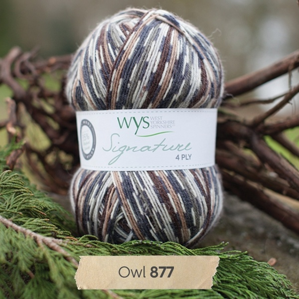 West Yorkshire Spinners Signature 4 Ply - Country Birds OWL