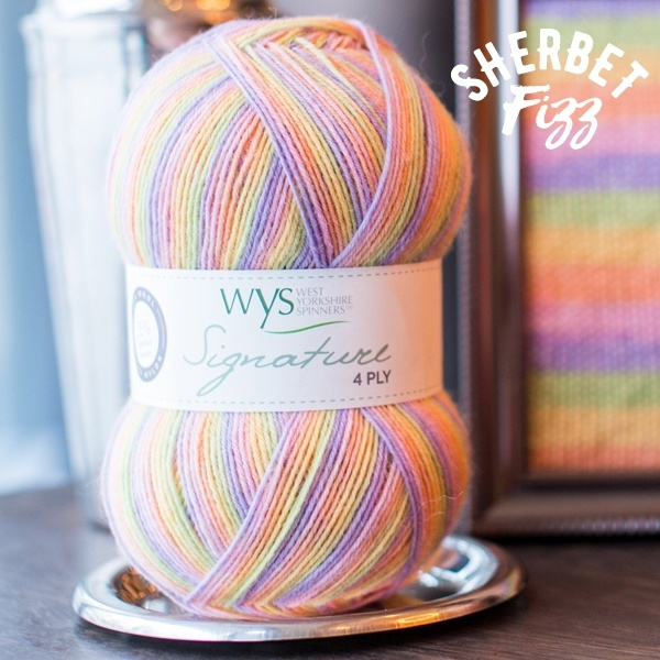 West Yorkshire Spinners Signature 4ply Cocktail Range SHERBERT