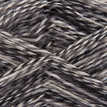 Rico Superba Circus 4ply Sock Yarn 006 BLACK MIX