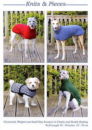 Knitting Dog Coat Patterns by Sandra Polley