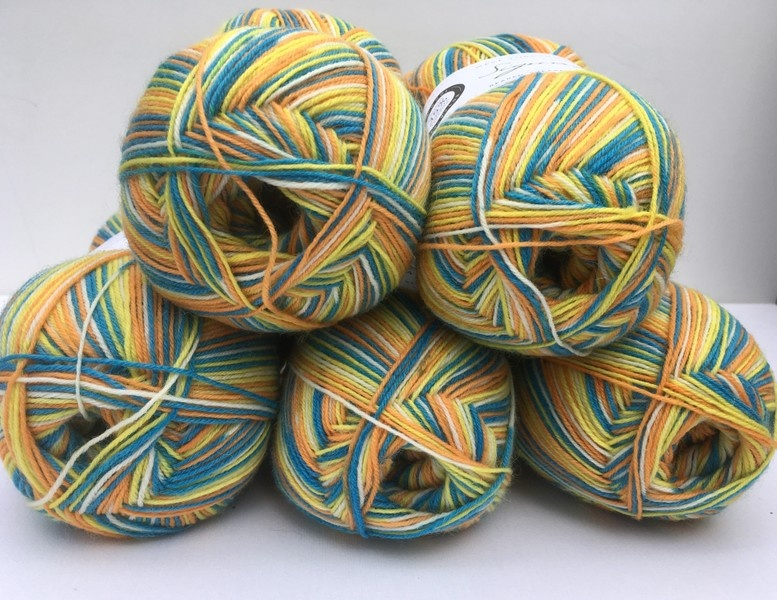 Marie Curie Sock Yarn Limited Edition 2018