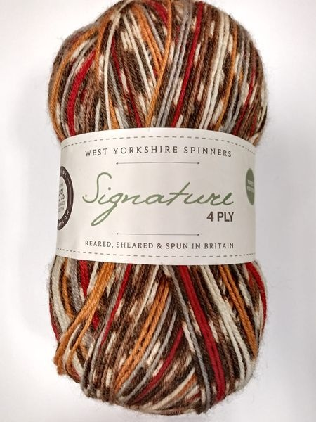 West Yorkshire Spinners 4ply Signature Christmas Robin