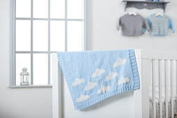 West Yorkshire Spinners - Snuggle Cloud Baby Blanket Kit