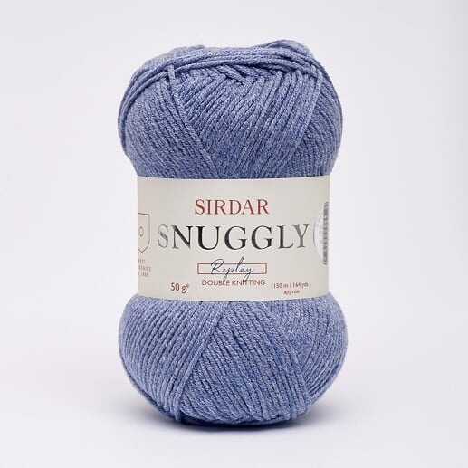 Sirdar Snuggly Replay DK Daredevil Denim 107
