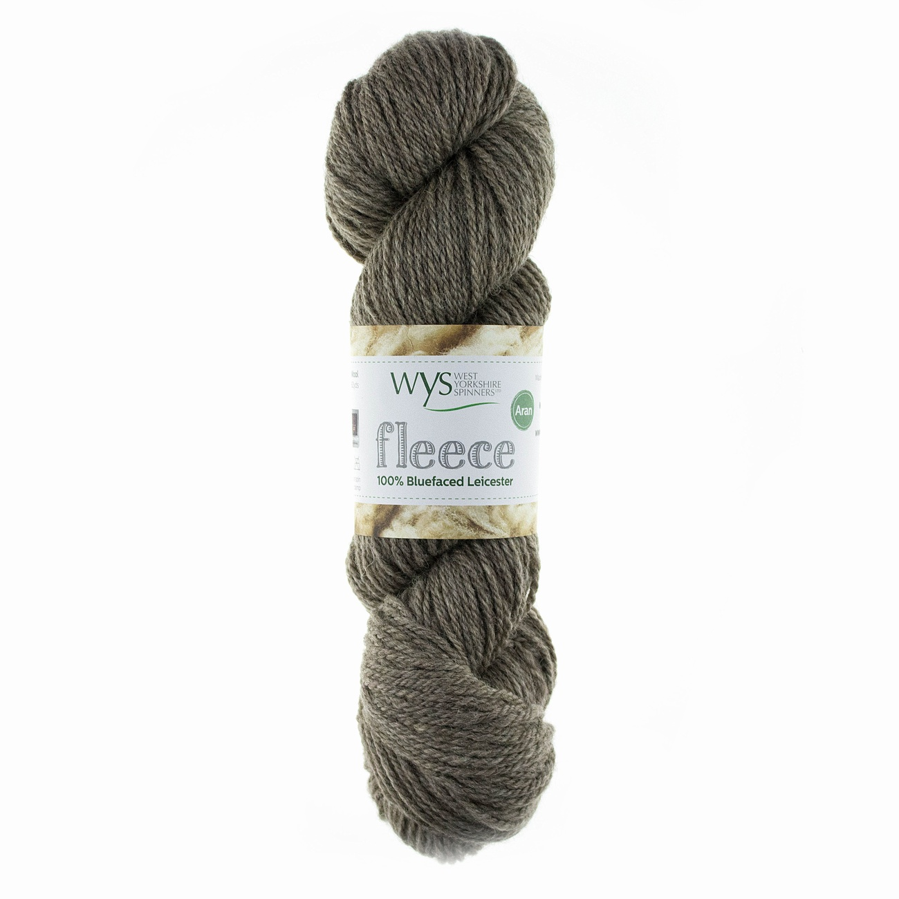 West Yorkshire Spinners Bluefaced Leicester Aran Hank Light Brown 002