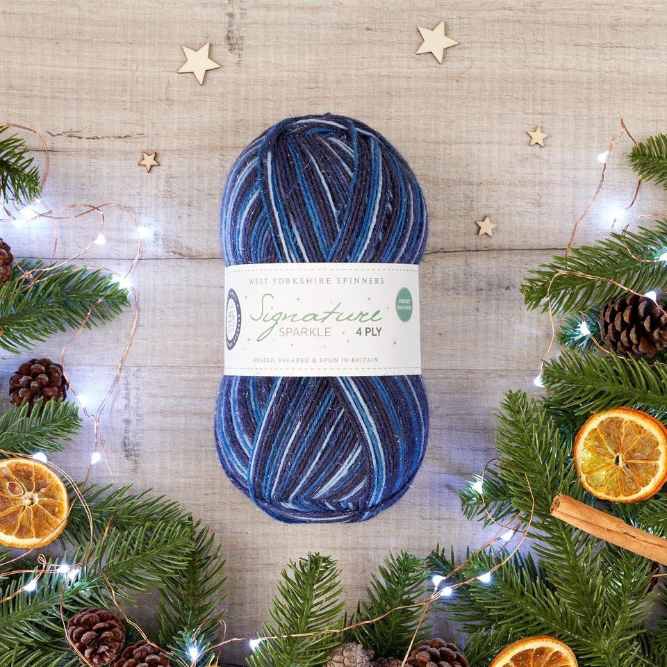 Signature Sparkle 'Silent Night' - West Yorkshire Spinners Christmas Collection