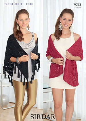Ladies Wrap and Shawl (7093)