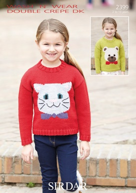 Cat and Bear Design Sweaters (2399)