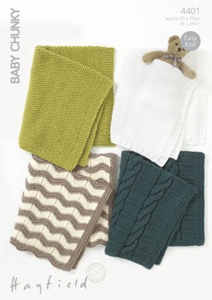 Baby Blankets - Chunky (4401)