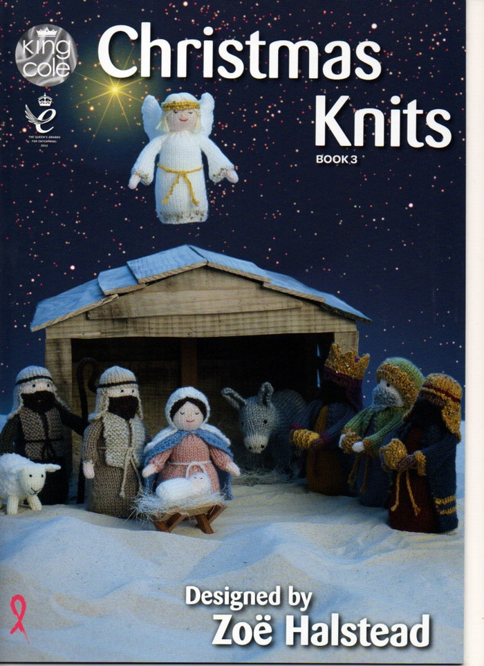King Cole Christmas Knits Volume 3 Knitting Pattern Book