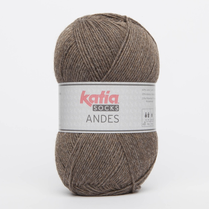 Katia Andes sock yarn - All Colours