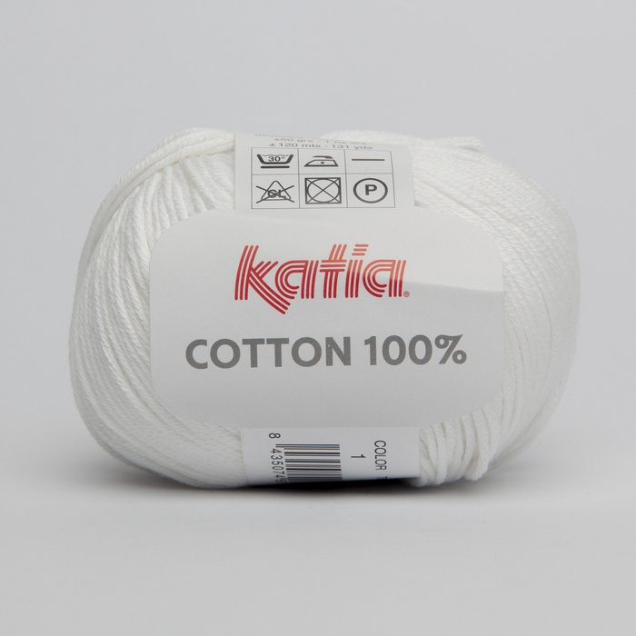 Katia Cotton 100% DK Yarn - All Colours