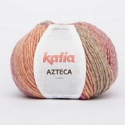 Katia Azteca  7852 Rose-Beige-Orange