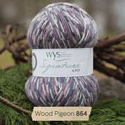 West Yorkshire Spinners Signature 4 Ply - Country Birds WOOD PIGEON