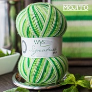 West Yorkshire Spinners Signature 4ply Cocktail Range MOJITO