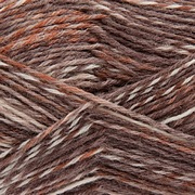 Rico Superba Circus 4ply Sock Yarn 005 BROWN MIX