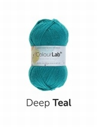 West Yorkshire Spinners Colour Lab DK  Deep Teal (716)