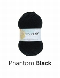 West Yorkshire Spinners Colour Lab DK Phantom Black (099)