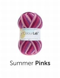 West Yorkshire Spinners Colour Lab DK Summer Pinks (893)