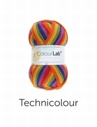 West Yorkshire Spinners Colour Lab DK Technicolour (891)