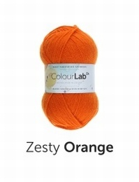 West Yorkshire Spinners Colour Lab DK  Zesty Orange