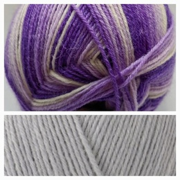 Winwick Mum WYS 4 Ply Hidden Gem and Dusty Miller