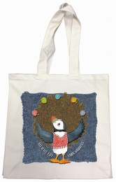 Emma Ball - Cotton Canvas Bag All Hail the Yarn Goddess