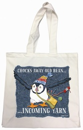 Emma Ball - Cotton Canvas Bag Chocks Away