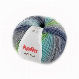 Katia Azteca Yarn 7863 Grey-Green-Blue