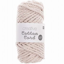 Rico Creative Cotton Cord Ecru 001