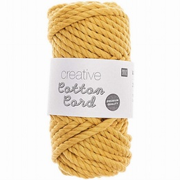 Rico Creative Cotton Cord Mustard 004
