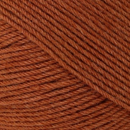 Regia Premium Silk 4 ply Sock Yarn Rust Red 0085