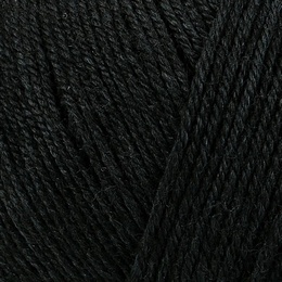 Regia Premium Silk 4 ply Sock Yarn Black 099