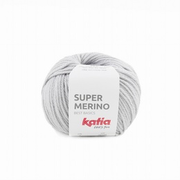 Katia Super Merino 9 - Pearl Light Grey