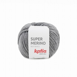 Katia Super Merino 10 - Medium Grey