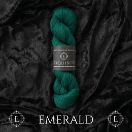 West Yorkshire Spinners Exquisite Lace Emerald 388