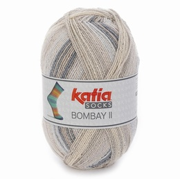 Katia Bombay II 4 Sock Yarn shade 70
