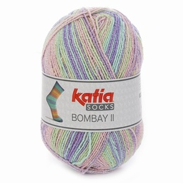 Katia Bombay II 4 Sock Yarn Shade 72