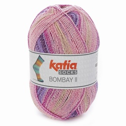 Katia Bombay II 4 Sock Yarn shade 73