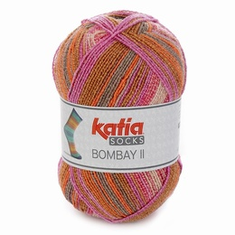 Katia Bombay II 4 Sock Yarn Shade 74