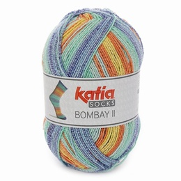 Katia Bombay II 4 Sock Yarn Shade 75